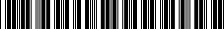 Barcode for PTR6089190